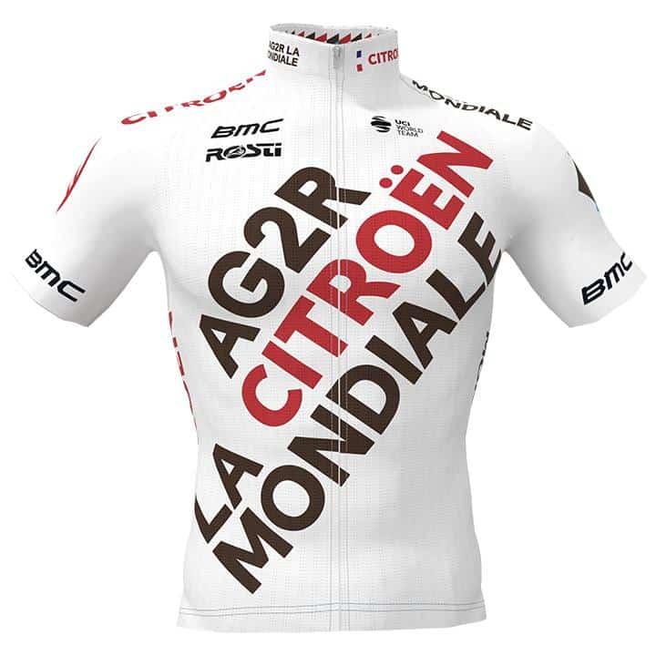 Het shirt van Alexis Gougeard van AG2R CITROEN TEAM