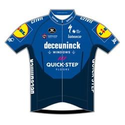 Het shirt van Mark Cavendish van DECEUNINCK - QUICK-STEP