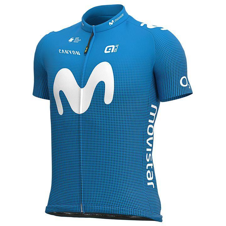 Het shirt van Alejandro Valverde van MOVISTAR TEAM