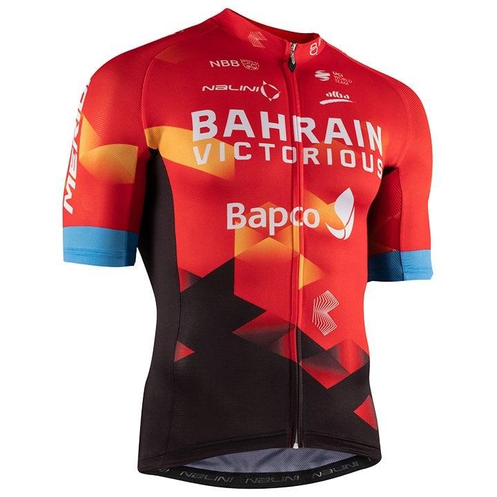 Het shirt van Marco Haller van BAHRAIN VICTORIOUS