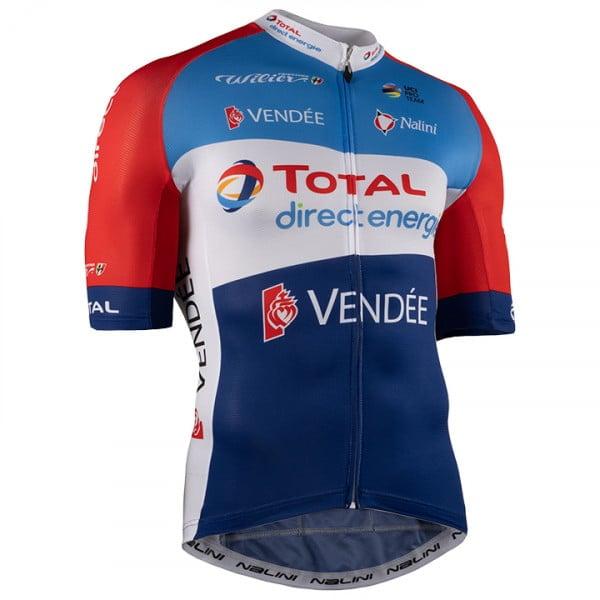 Het shirt van Alexandre Geniez van TOTAL DIRECT ENERGIE