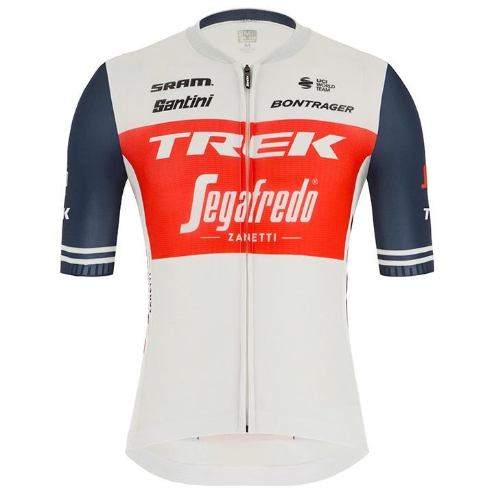 Het shirt van Jasper Stuyven van TREK - SEGAFREDO