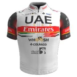 Het shirt van Davide Formolo van UAE TEAM EMIRATES